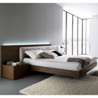 Casual Contemporary Floating Bed Design Ideas For You11