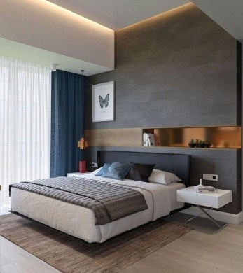 Casual Contemporary Floating Bed Design Ideas For You15