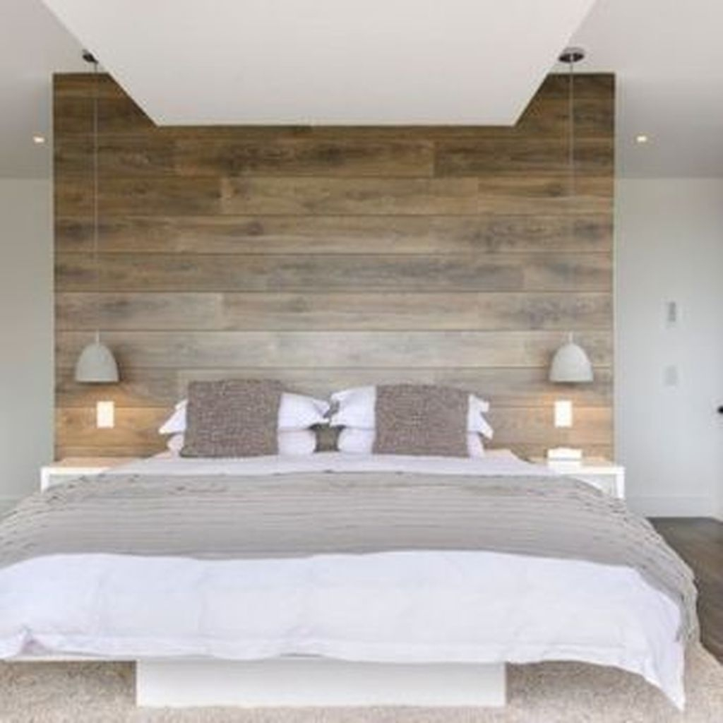 Casual Contemporary Floating Bed Design Ideas For You24