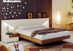 Casual Contemporary Floating Bed Design Ideas For You36