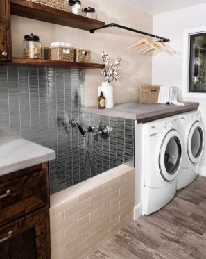 Charming Small Laundry Room Design Ideas For You25