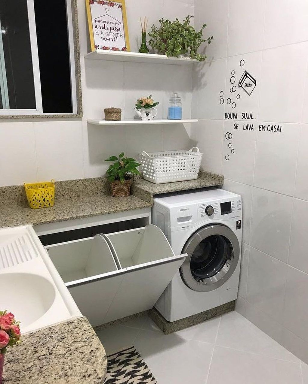 Charming Small Laundry Room Design Ideas For You27