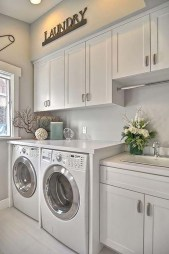 Charming Small Laundry Room Design Ideas For You34