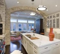 Extraordinary Big Open Kitchen Ideas For Your Home16