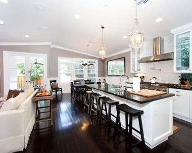 Extraordinary Big Open Kitchen Ideas For Your Home20