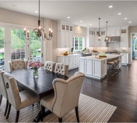 Extraordinary Big Open Kitchen Ideas For Your Home29