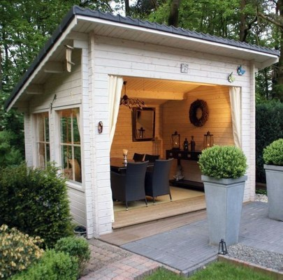 Incredible Studio Shed Designs Ideas For Your Backyard18