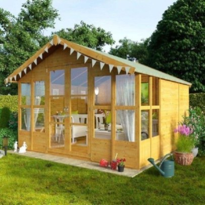 Incredible Studio Shed Designs Ideas For Your Backyard19