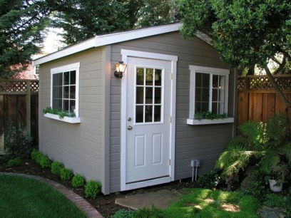 Incredible Studio Shed Designs Ideas For Your Backyard20