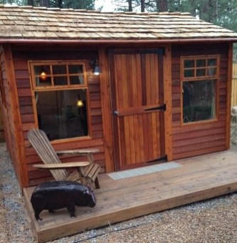 Incredible Studio Shed Designs Ideas For Your Backyard27