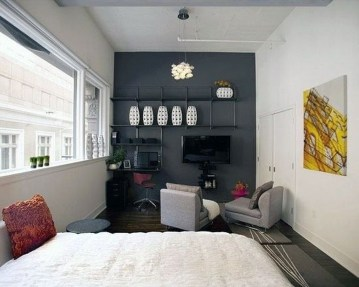 Rustic Tiny Studio Apartment Design Ideas For You14