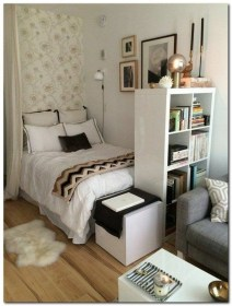 Rustic Tiny Studio Apartment Design Ideas For You41