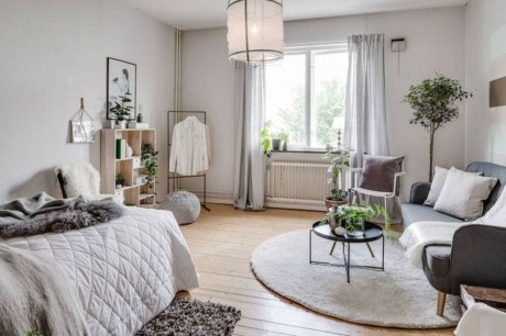 Rustic Tiny Studio Apartment Design Ideas For You42