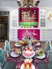 Stunning Dining Room Design Ideas With Multicolored Chairs12