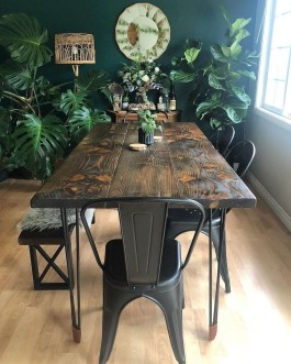 Unordinary Dining Room Design Ideas With Bohemian Style24