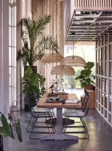 Unordinary Dining Room Design Ideas With Bohemian Style31