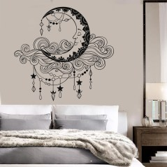 Vintage Bedroom Wall Decals Design Ideas To Try17