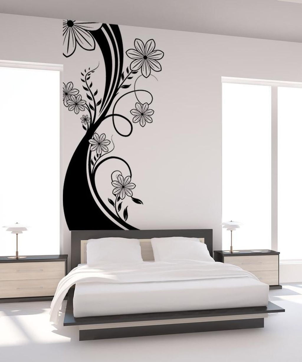 Vintage Bedroom Wall Decals Design Ideas To Try25