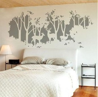 Vintage Bedroom Wall Decals Design Ideas To Try35