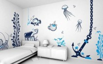 Vintage Bedroom Wall Decals Design Ideas To Try45