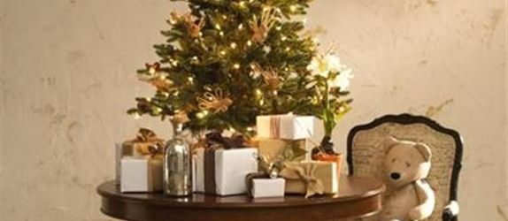 Gorgeous Table Top Christmas Tree With Lights Ideas