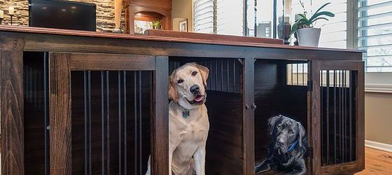 Gorgeous Large Dog Crate Furniture Ideas