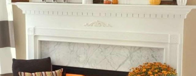 Lovely Farmhouse Fall Fireplace Decor Ideas