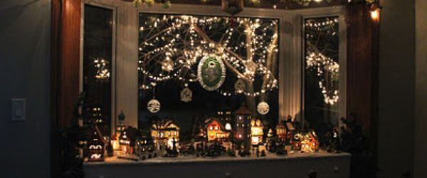 The Best Bay Window Christmas Decorations Ideas