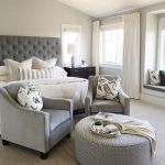 Lovely Bedroom Chair With Ottoman Ideas