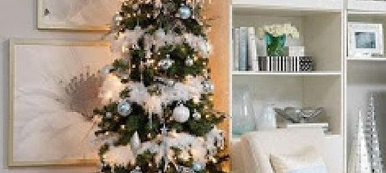 Lovely Skinny Christmas Tree With Lights Ideas