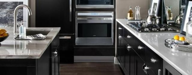 Stunning Color Schemes For Kitchens With Dark Cabinets Ideas