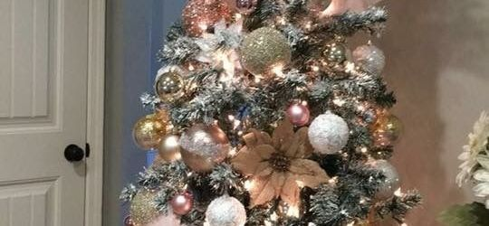 Awesome Rose Gold Christmas Tree Ideas
