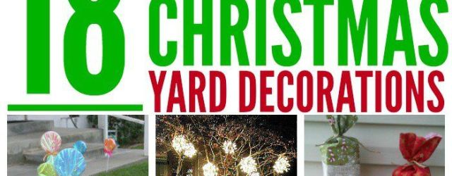 Gorgeous DIY Christmas Decorations For Outside Ideas