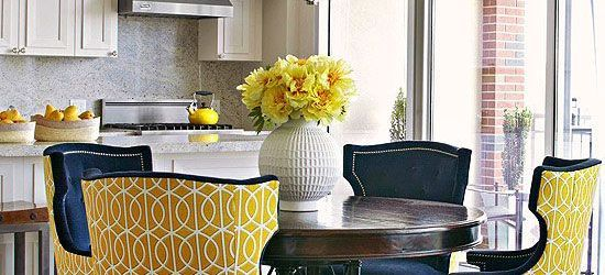 Lovely Fabric Dining Room Chairs Ideas