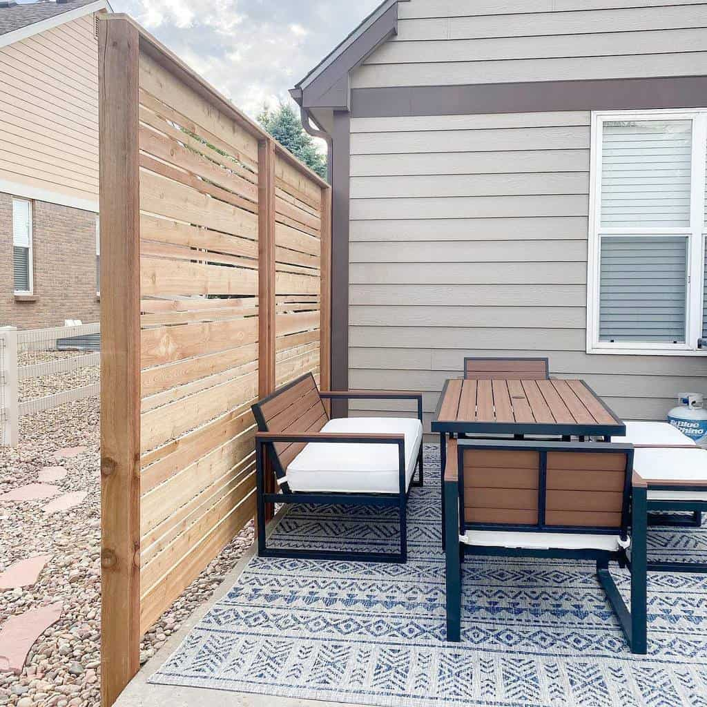 the top 43 outdoor privacy screen ideas
