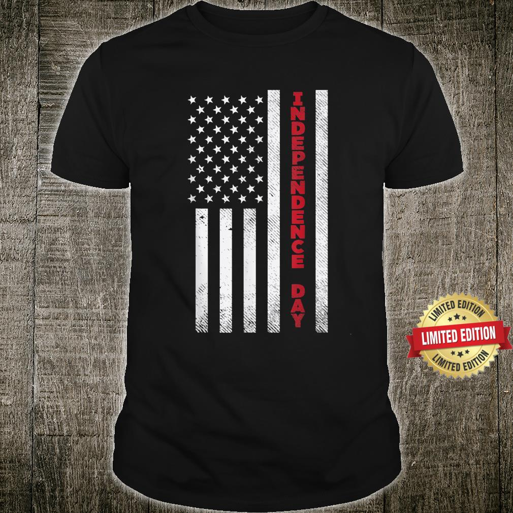 Independence Day American Flag 4th of July Patriot Shirt