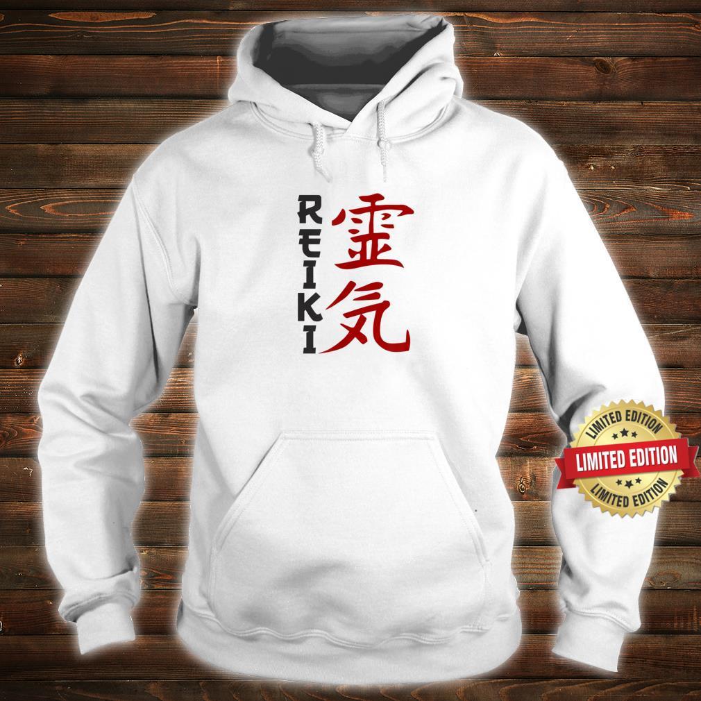 Japanese Character Reiki Art Shirt, Chakra Shirt hoodie