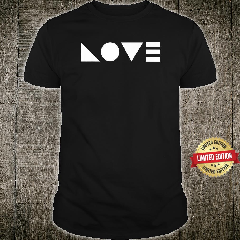Sacred Geometry Love Shirt