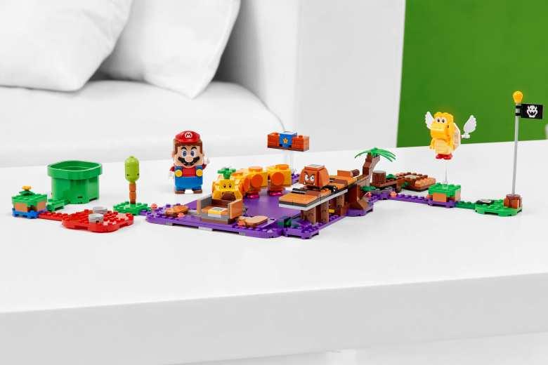 LEGO Super MarioWiggler's Poison SwampExpansion Set