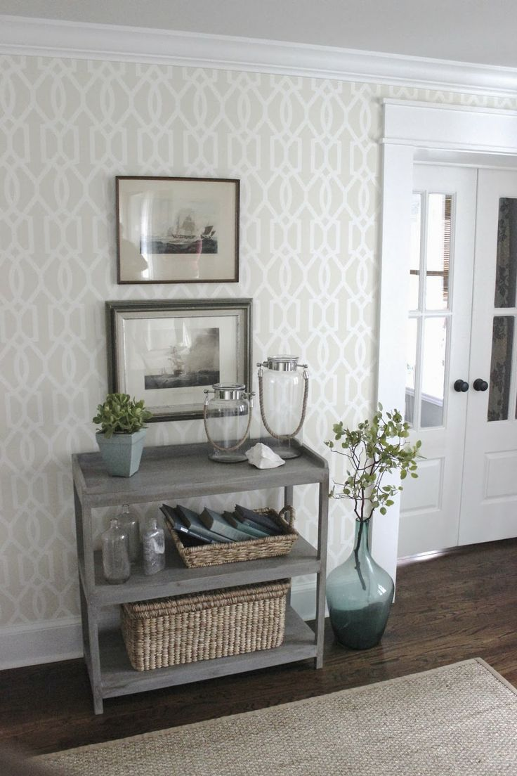10 mooi behang aan de muur for Wallpaper for home entrance