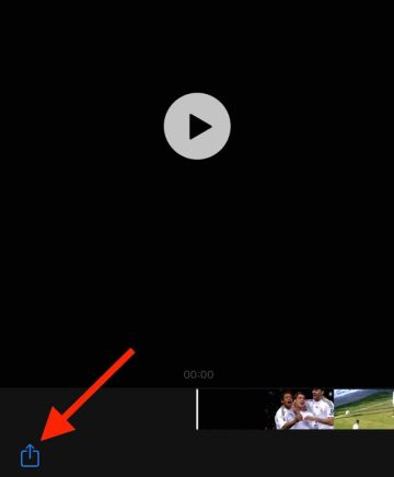share video icon