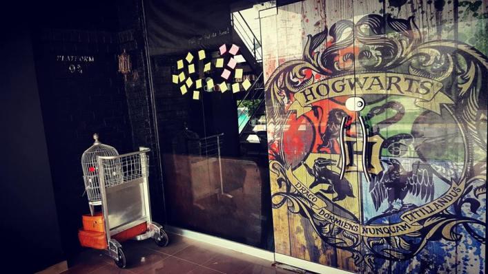 Harry Potter Themed Cafe