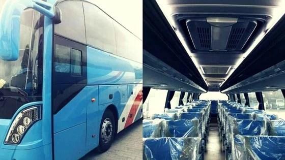 Daewoo Express expands its fleet with new Daewoo Dragon buses ...