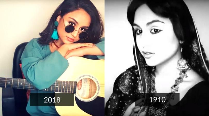 Pakistani-Norwegian makeup artist shows journey of Pakistani beauty trends from 1910 - 2018