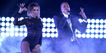 Beyonce Knowles Jay-Z Drunk in Love Grammy Awards 2014
