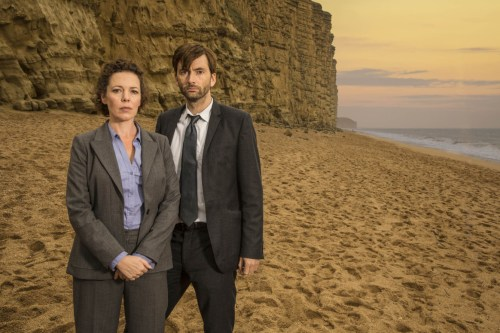 David Bradley Olivia Colman Broadchurch