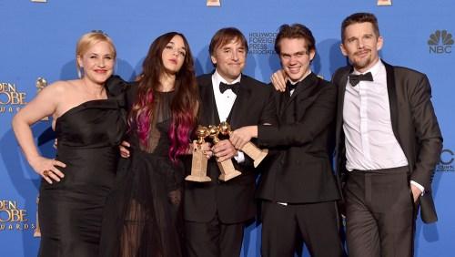 Boyhood Cast Golden Globes 2015