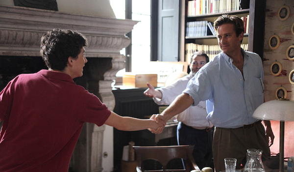 Michael Stuhlbarg Armie Hammer, and Timothée Chalamet Call Me by Your Name