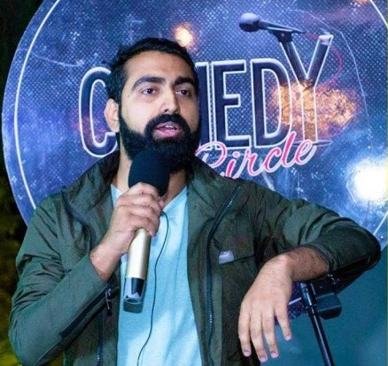 Apoorwa Kshitiz Singh Nepali Comedian