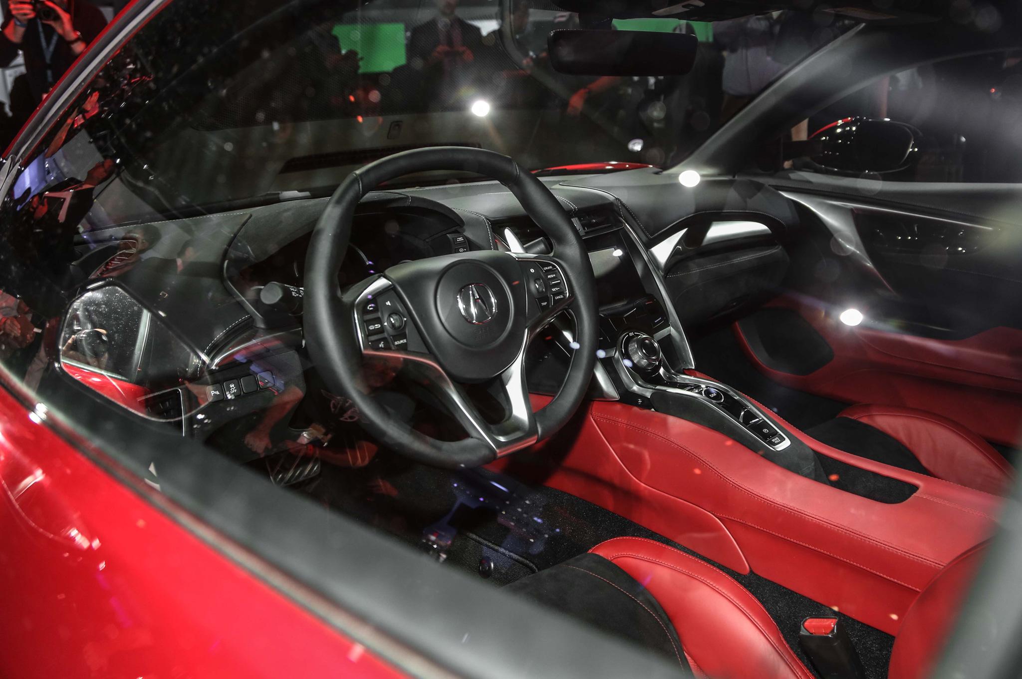 ... 2016 Acura Nsx Interior